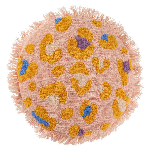 Hilaire Punch Needle Cushion - Peach