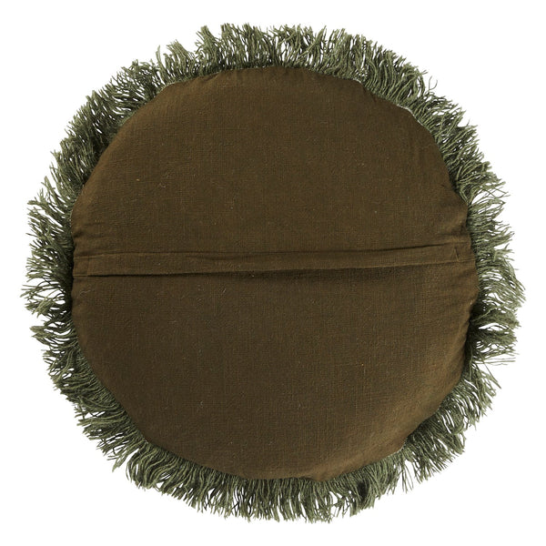 Hilaire Punch Needle Cushion - Pine