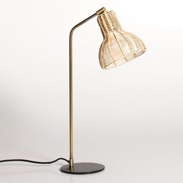 Andros Rattan Table Lamp
