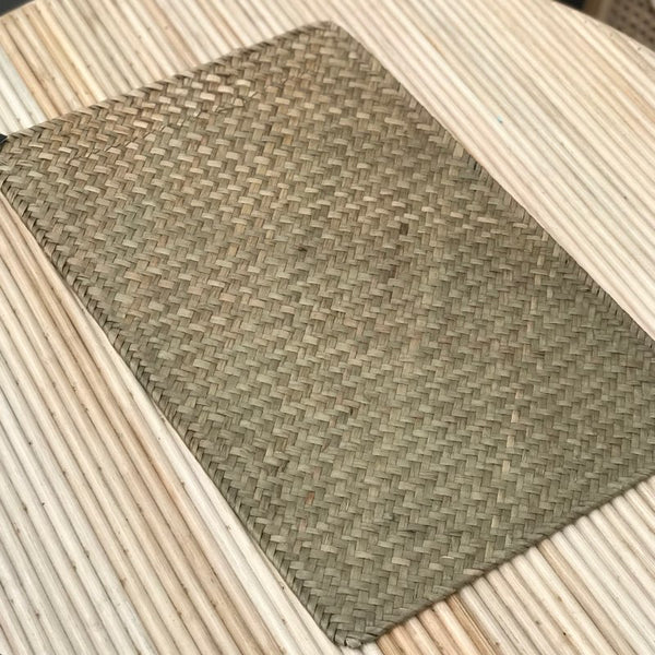 Placemat - Long Weave Natural