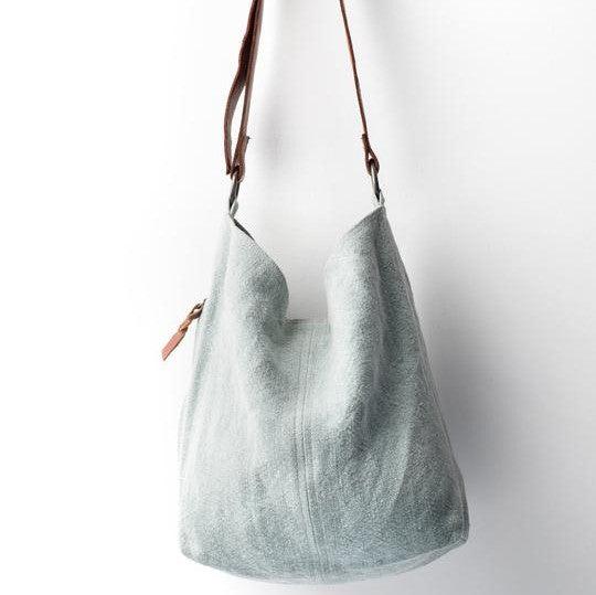 Baby Jute Bag - French Blue