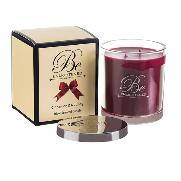 Cinnamon & Nutmeg Triple Scented Candle 400g