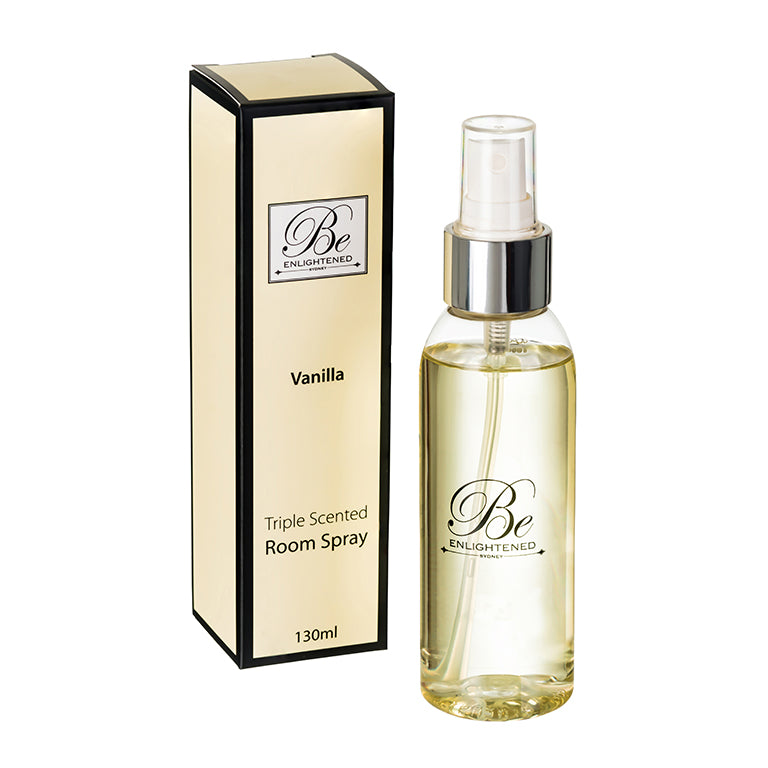 Vanilla Triple Scented Room Spray 130ml