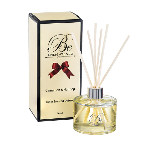 Cinnamon & Nutmeg Triple Scented Diffuser 200ml