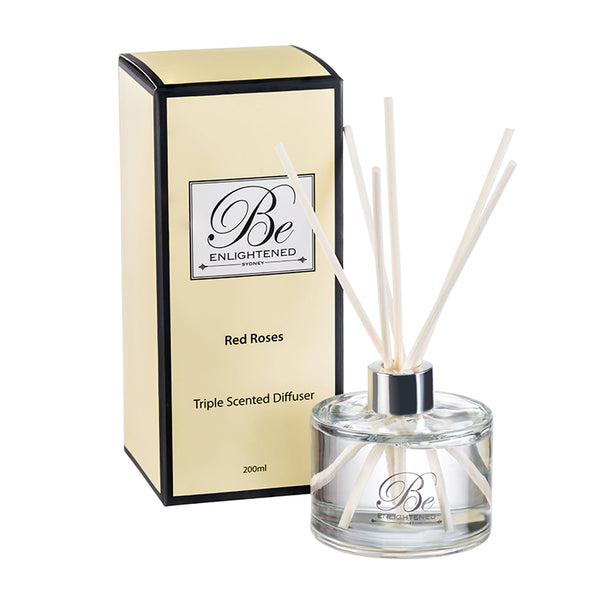 Red Roses Triple Scented Diffuser 200ml