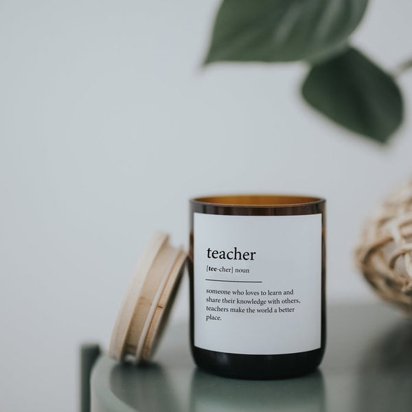 Dictionary Meaning Soy Candle Teacher-Hudson Valley