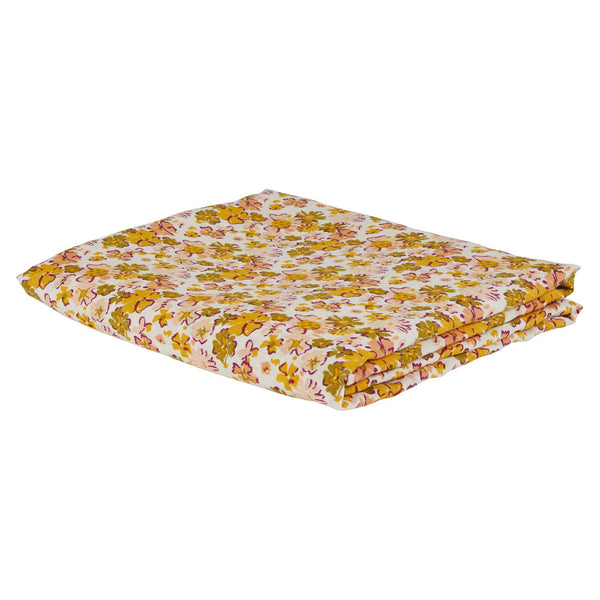 Loveat Linen Fitted Sheet - Soda