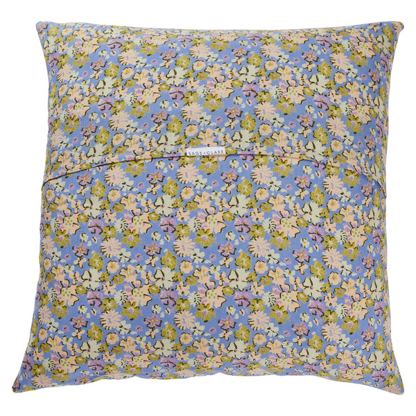 Loveat Linen Euro Pillowcase Set - Cornflower