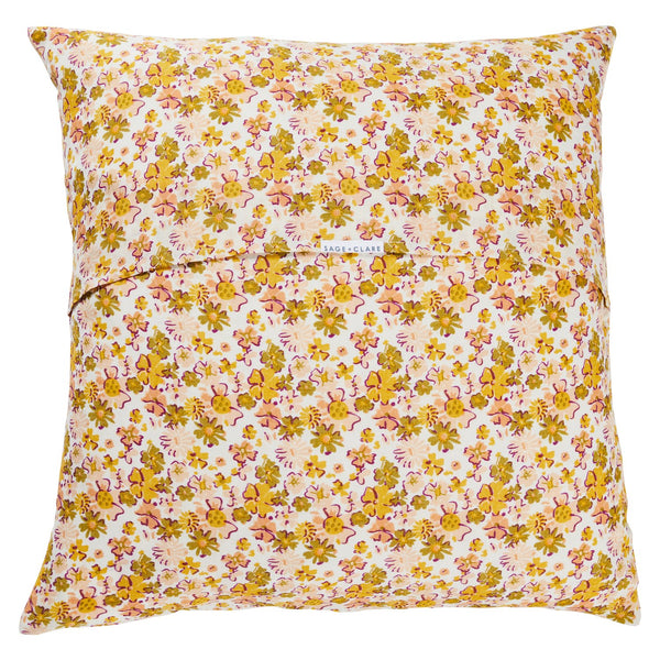 Loveat Linen Euro Pillowcase Set - Soda