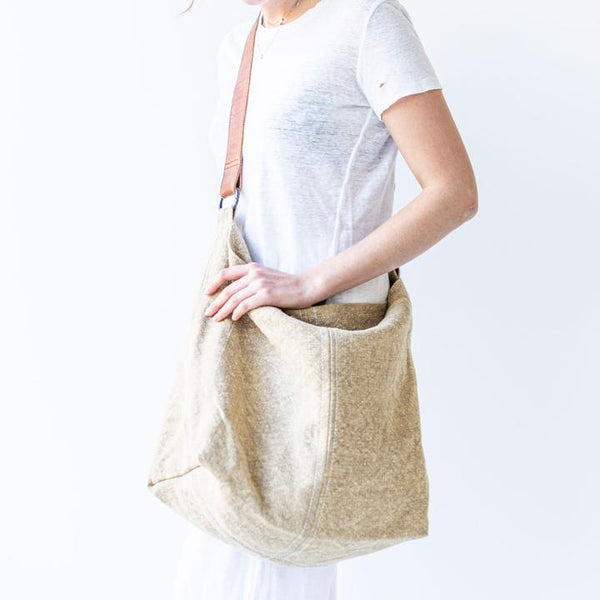 Beach Jute Slouchy - Natural