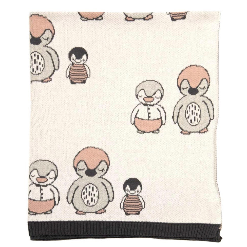 Polly Penguin Blanket