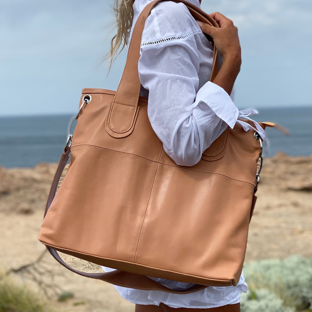 Everyday Shopper Bag - Nude