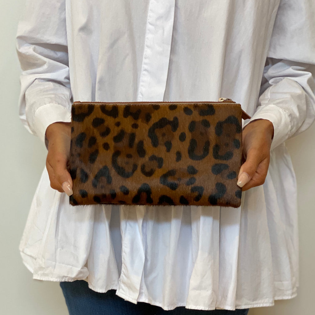 Original Wallet - Tan Leopard