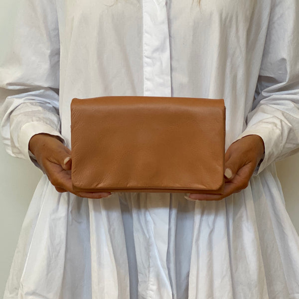 Flap Wallet - Biscuit