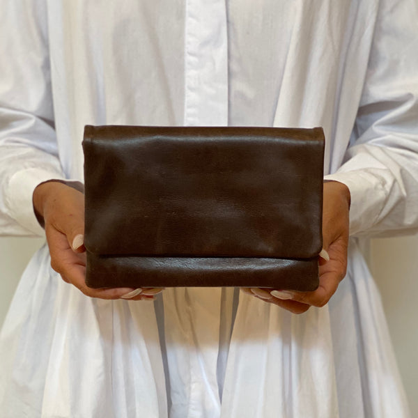 Pouch Wallet - Chocolate