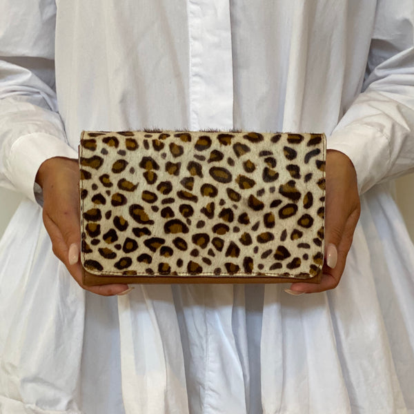 Flap Wallet - Leopard