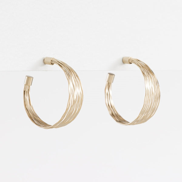 Wire Earring - Gold