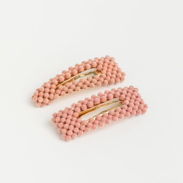 Bubble Hair Clip - Blush
