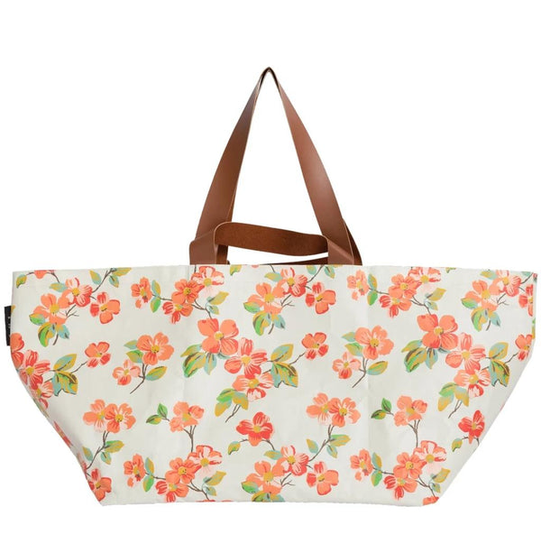 Elma Floral Beach Bag