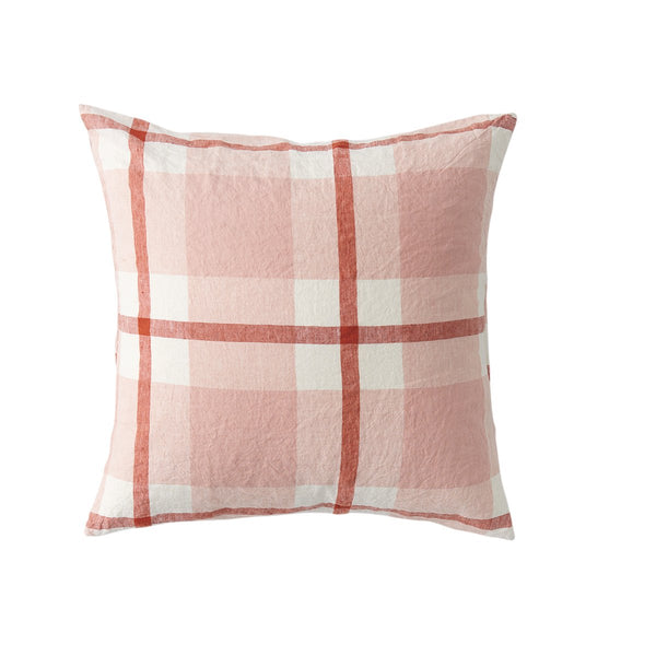 Floss Check European Pillowcase