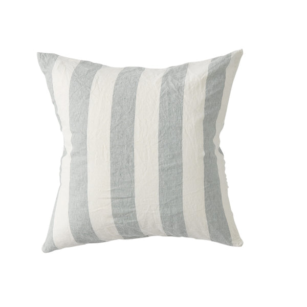 Fog Stripe Euro Pillowcase Set