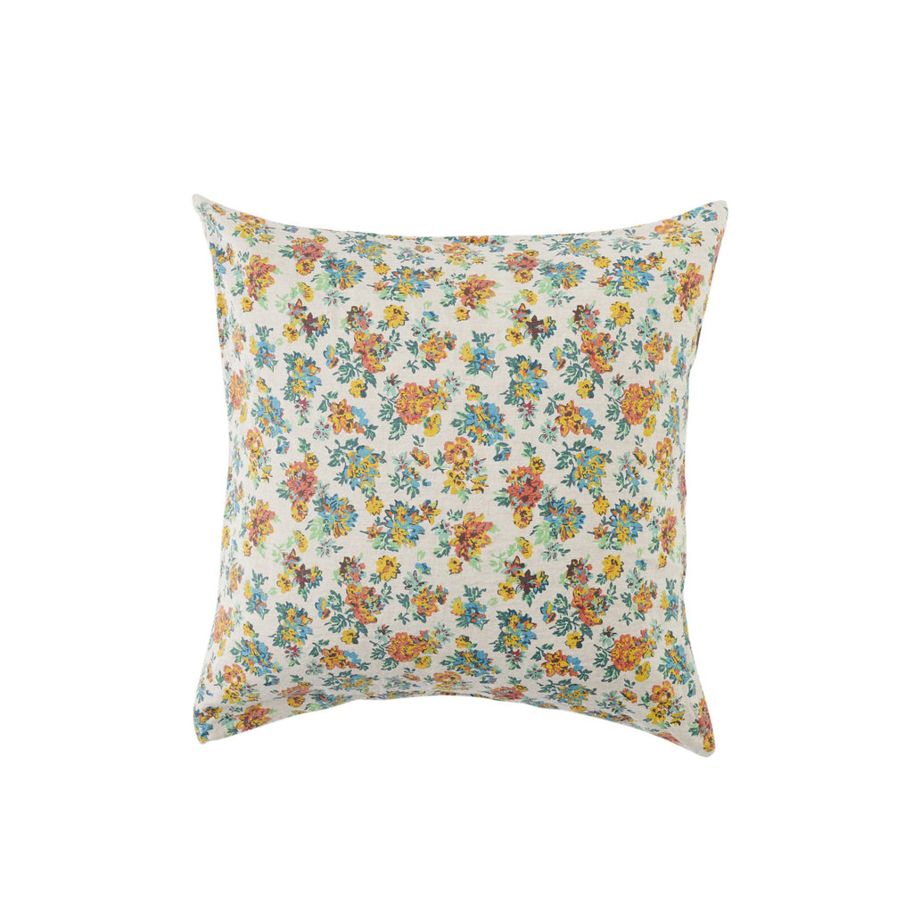 Florence Floral Linen Cushion
