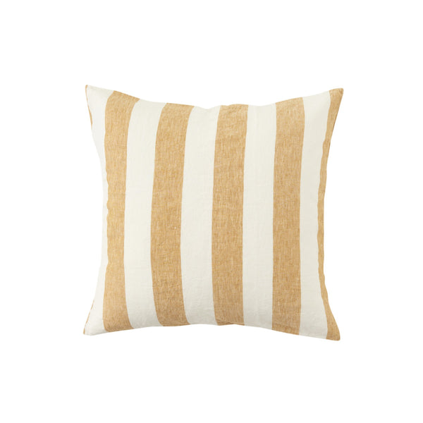 Turmeric Stripe European Pillowcase Set