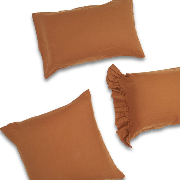 Tobacco Standard Pillowcase Set