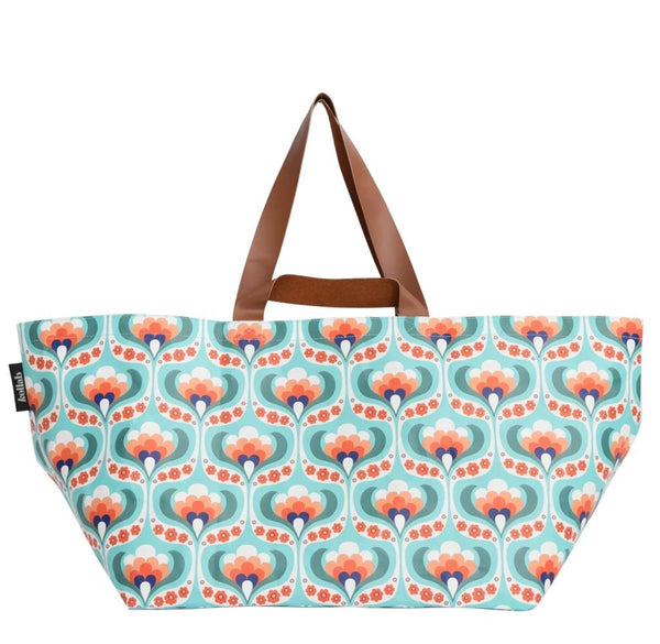 Maude Floral Beach Bag
