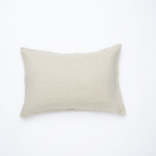 Natural Standard Pillowcase Set