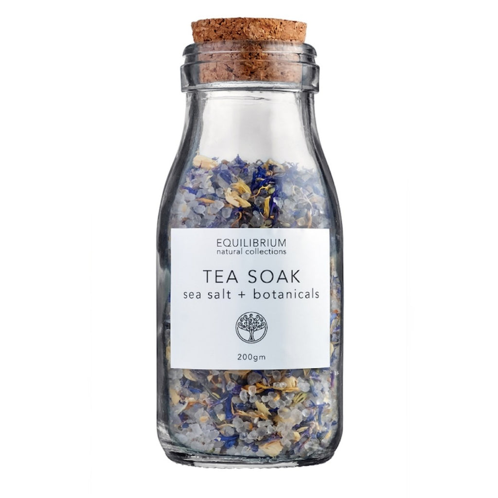 Tea Soak - Sea Salt + Botanicals 200g
