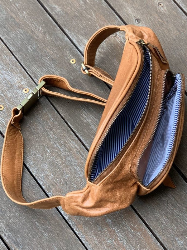 Bum Bag - Distressed Tan
