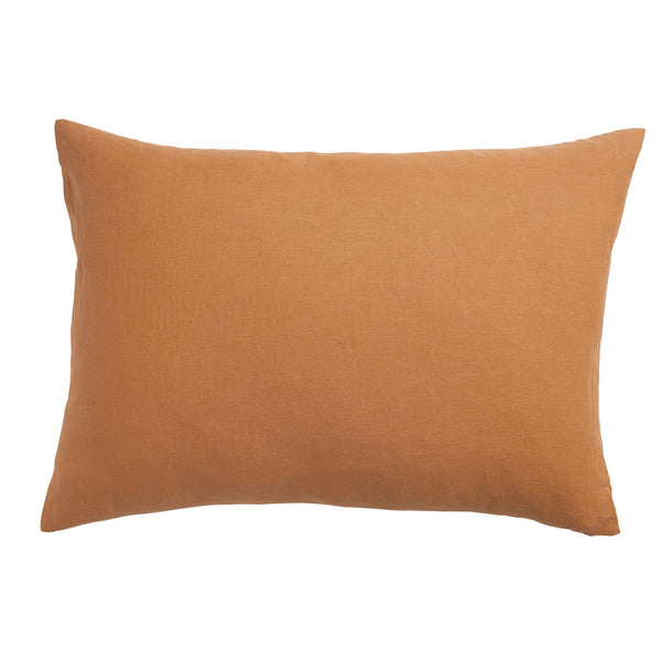 Linen Pillowcase Set - Tan
