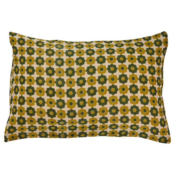 Amante Linen Pillowcase Set - Olive