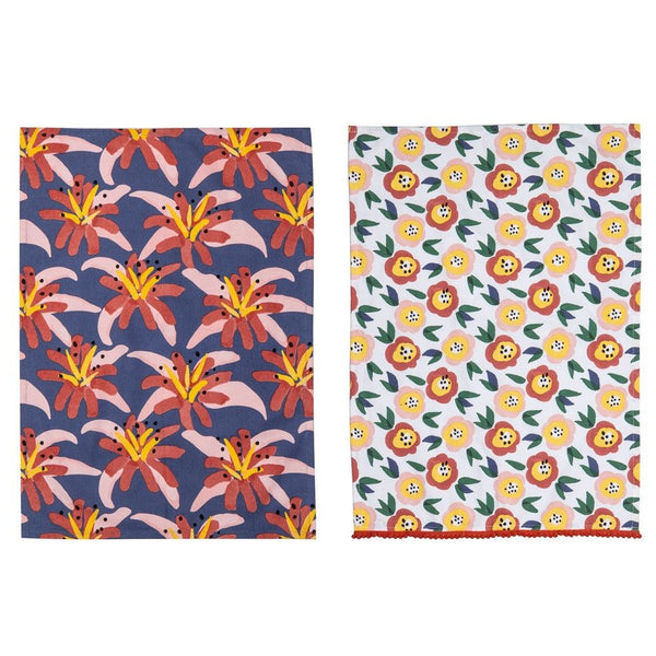 Floral Feels Tea Towel - Set of 2