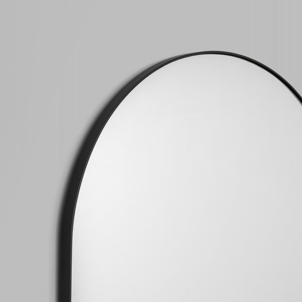Bjorn Arch Floor Mirror Black