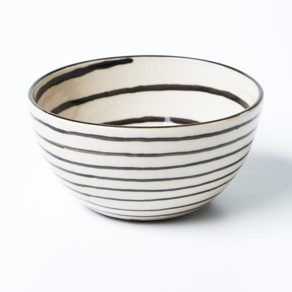 Chino Black Stripe Bowl