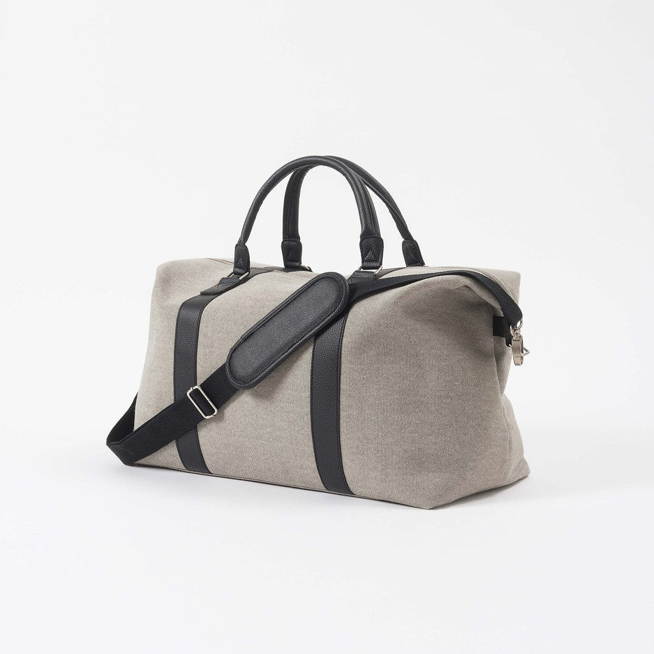 Canvas Weekender Bag - Grey