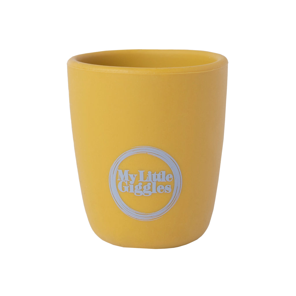 Silicone Drink Cup - Mustard
