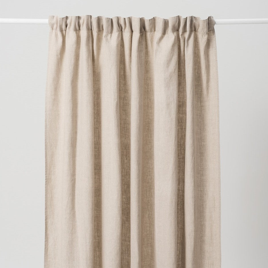 Washed Linen Curtain - Natural