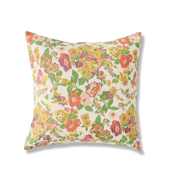 Marianne Floral European Pillowcase Set