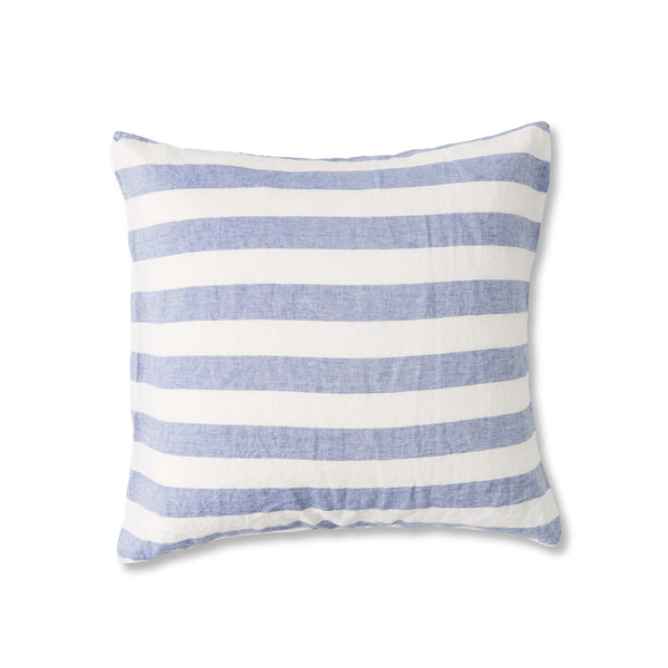 Chambray Stripe European Pillowcase Set