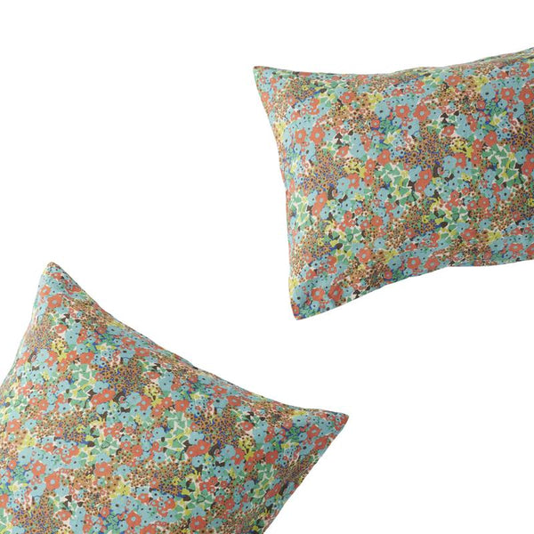 Carole Floral Pillowcase Set - Euro