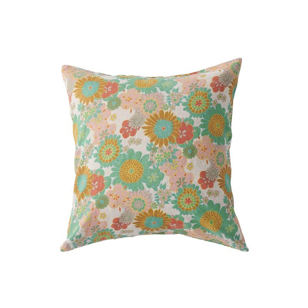 Wanda Floral Euro Pillowcase Set