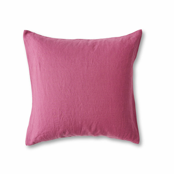 Fuchsia European Pillowcase Set