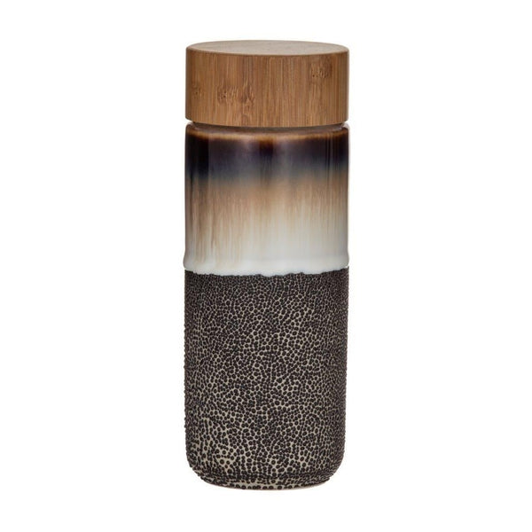 Roma Double Wall Flask - Bamboo Lid