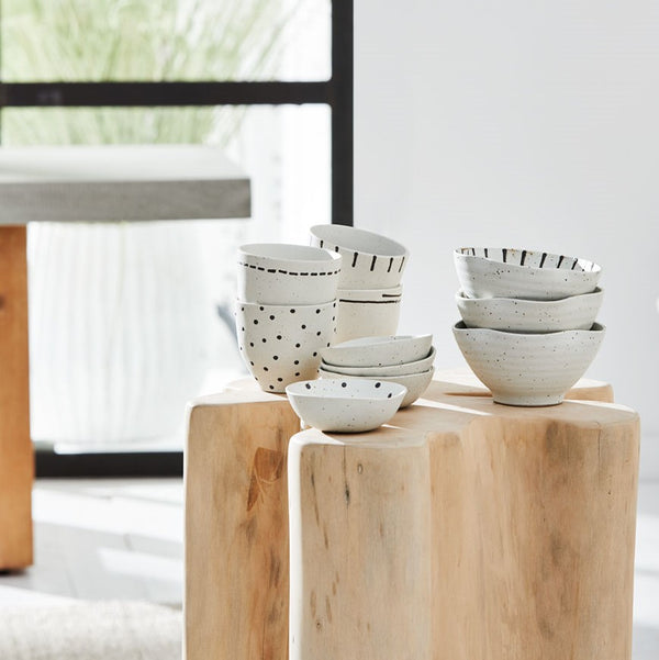 Emiko Condiment Bowls - Set of 4 (Mini)