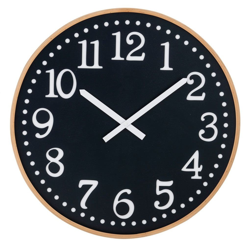 Thomas Wall Clock - Black