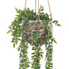 Flo Hanging Pot - Taupe Grey Small