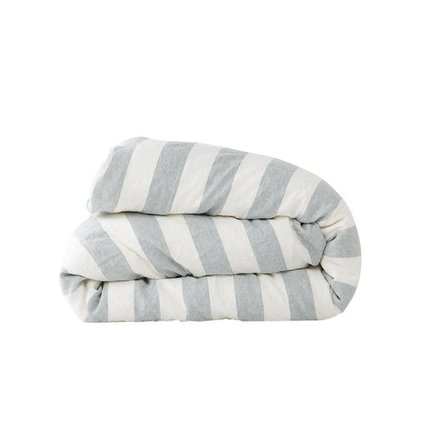 Fog Stripe Duvet Cover